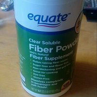 Equate : 125 Servings Clear Soluble Fiber Powder Fiber Supplement uploaded by Ines G.