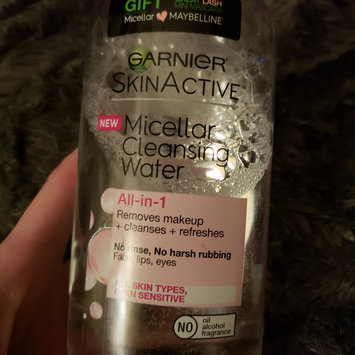 Photo of Garnier SkinActive Micellar Cleansing Water All-in-1 uploaded by Lisann A.