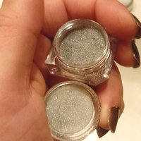 Born Pretty 2 Box Mirror Powder Gold Silver Pigment Nail Glitter Nail Art Chrome Powder with Matching Brushes(Silver+Gold,2Box) uploaded by Brittney V.