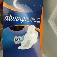 Always Infinity Size 4 Overnight Pads with Wings Unscented uploaded by Dianna L.