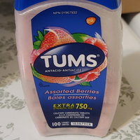 Tums Extra Strength, Assorted Berries - 750 mg, 100 Chewables uploaded by Lorna W.