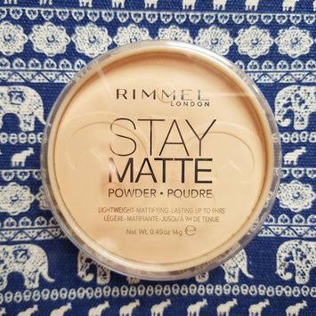 Photo of Rimmel London Stay Matte Pressed Powder uploaded by Caroline H.