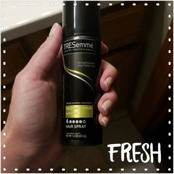 Photo of TRESemmé Tres Two Extra Hold Hair Spray uploaded by Lisa F.