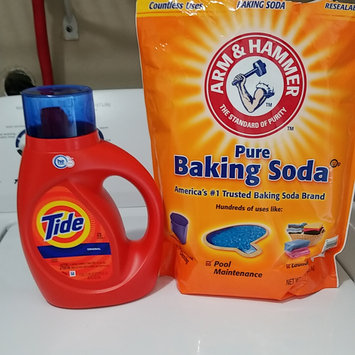 Photo of Tide Original Scent HE Turbo Clean Liquid Laundry Detergent uploaded by Crystal W.