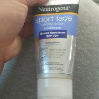 Neutrogena® Sport Face Oil-Free Lotion Sunscreen Broad Spectrum SPF 70+ uploaded by Darlene D.