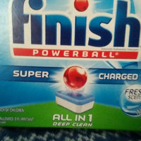 Finish Powerball Tabs Dishwasher Detergent uploaded by Susan C.
