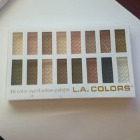 L.A. Colors 16 Color Eyeshadow Palette uploaded by Sarah L.
