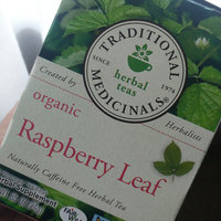 Traditional Medicinals Caffeine Free Organic Herbal Tea Raspberry Leaf uploaded by Christinee Y.