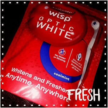 Photo of Colgate® WISP™ OPTIC WHITE™ Mini-Brush Coolmint uploaded by Jeannine L.