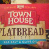 Keebler Town House Flatbread Crisps Sea Salt & Olive Oil Crackers uploaded by Kathy M.