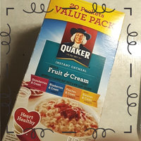 Quaker® Instant Oatmeal Fruit And Cream Variety Pack uploaded by thalia j.