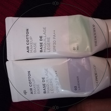 Photo of The Face Shop Air Cotton Make Up Base SPF30 PA++ uploaded by Clarisse Ann L.