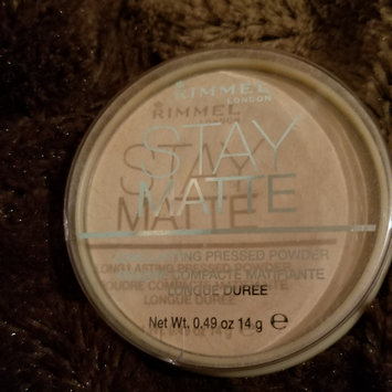 Photo of Rimmel London Stay Matte Pressed Powder uploaded by Km G.