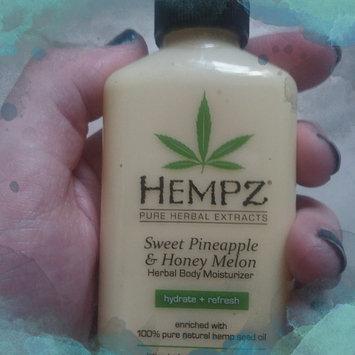 Photo of Hempz Sweet Pineapple & Honey Melon Moisturizer uploaded by Caitlyn Y.