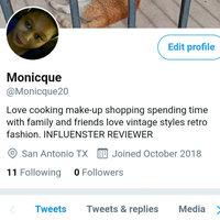 Twitter uploaded by monicque W.