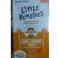 Little Remedies® Sore Throat Pops uploaded by aye j.