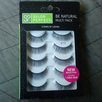 Salon Perfect Perfectly Natural Multi Pack Eyelashes, 610 Black, 4 pr uploaded by Patty J.