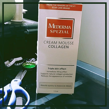 Photo of Mederma Spezial Cream Mousse Collagen - Triple Skin Effect: Immediate Lifting Effect, Supports Natural Collagen Production, Reduces the Appearance of Wrinkles - 1.5 oz. uploaded by Rosemarie C.