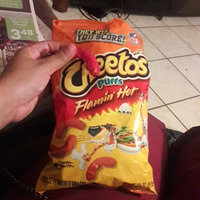 Cheetos® Flamin' Hot Puffs FLAMIN'  Cheese Flavored Snacks uploaded by Gisselle V.