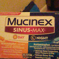 Mucinex Sinus-Max Day and Night Caplets uploaded by Kathy M.