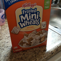 Kellogg's Mini-Wheats Bite Size Frosted Cereal uploaded by Fiona A.