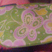 Clinique Lovely Green Flower Cosmetics Bag uploaded by Brittney T.