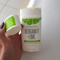 Schmidt's Bergamot + Lime Natural Deodorant uploaded by Dermatologist U.
