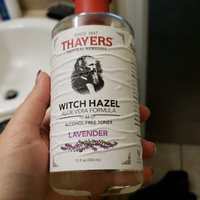 Thayers Alcohol-Free Witch Hazel with Organic Aloe Vera Formula Toner Lavender uploaded by Fiona A.