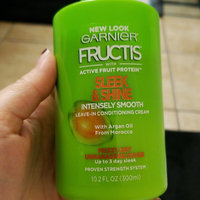 Garnier Fructis Sleek & Shine Intensely Smooth Leave-In Conditioning Cream uploaded by Fiona A.