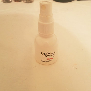 Photo of ULTA Travel Dewy Makeup Setting Spray uploaded by Hannah Q.