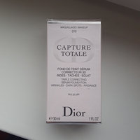Dior Capture Totale Triple Correcting Serum Foundation SPF 25 uploaded by Элина Б.