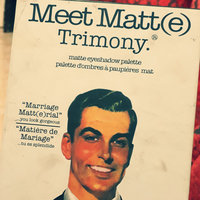 theBalm Meet Matt(e) Trimony® Matte Eyeshadow Palette uploaded by dana S.