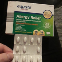 Equate - Allergy Cetirizine 10 mg, 14 Tablets (Compare to Zyrtec) uploaded by Amber S.