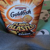 Goldfish® Flavor Blasted Xplosive Pizza Baked Snack Crackers uploaded by Maggie B.