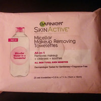 Garnier SkinActive All-in-1 Micellar Makeup Removing Towelettes uploaded by Tasha H.