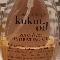 OGX® Kukui Oil Anti-Frizz Hydrating Oil uploaded by Tracie o.