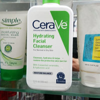 CeraVe Hydrating Facial Cleanser 12 oz for Daily Face Washing, Dry to Normal Skin [Hydrating Facial Cleansers] uploaded by janet a.