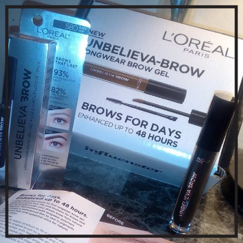 Photo of L'Oréal Paris UNBELIEVA-BROW Longwear Waterproof Brow Gel uploaded by Jasmine L.