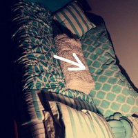 your zone trellis pillow, teal uploaded by amanda b.