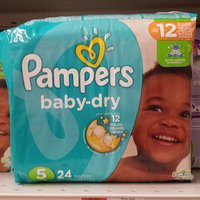 Pampers® Baby Dry™ Diapers Size 5 uploaded by Kristina M.