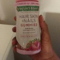 Nature's Bounty® Optimal Solutions® Hair Skin & Nails Gummies uploaded by shakeeta h.