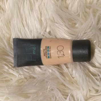 Photo of Maybelline Fit Me® Matte + Poreless Foundation uploaded by Mona R.