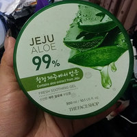 The Face Shop - Jeju Aloe 99% Fresh Soothing Gel 300ml 300ml uploaded by Jade's I.