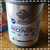 Sport Organic Plant-Based Recovery Blackberry Lemonade Garden of Life 446 grams Powder uploaded by Lacee L.