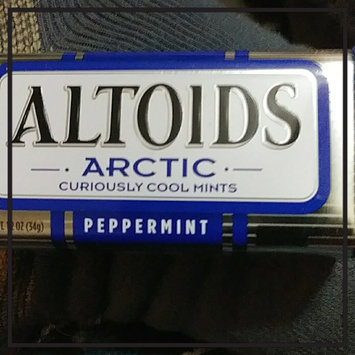 Photo uploaded to Altoids Arctic Curiously Cool Sugar Free Peppermint Mints by Dina S.