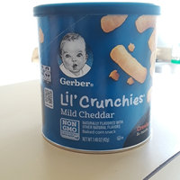 Gerber® Lil' Crunchies®   Mild Cheddar Snack Cup uploaded by Kamille C.