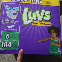 Luvs Ultra Leakguard with Nightlock™ Plus Size 6 Diapers uploaded by arma a.