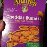 Annie's® Cheddar Bunnies Baked Snack Crackers uploaded by crystal j.