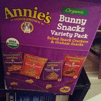 Annie's®  Homegrown  Cheddar Bunnies Bunny Grahams Variety Snack Pack uploaded by crystal j.