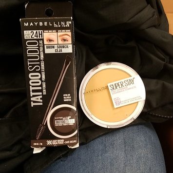 Photo of Maybelline TattooStudio™ Waterproof Eyebrow Gel uploaded by Nykita S.
